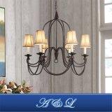 6-Light Vintage Style Chandelier for Living Room