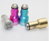 3.1A Metal Dual Universal Car Charger with Safety Hammer Function for iPhone Samsung and Tablet PC