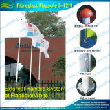 5m Fiberglass Pole for Flying Flags Banner Hanging (M-NF31P05001)
