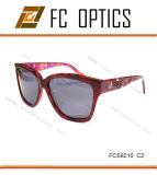 New Burgundy Color for Women Sunglasses From Sincerely Factory