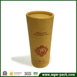 Eco Friendly Cylinder Packaging Kraft Paper Box