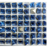 Small Square Fancy Stones Strass Beads