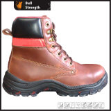 Industrial Protective Safety Boot with Transparent PU Outsole (SN1362)
