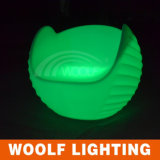 Plastic Outdoor or Indoor Furniture LED Seating Sofa