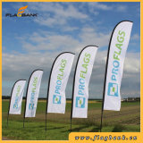 Outdoor Aluminium Single or Double Sided Printing Feather Flag/Flying Flag