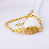 71940 Fashion Gold-Plated No Stone Jewelry Bracelet in Environmental Copper