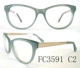 Popular Handcraft Acetate and Metal Combination Eyewear
