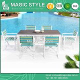 Folding Chair with Colorful Textile for Outdoor Sling Dining Chair Colorful Dining Chair Outdoor Dining Set Garden Dining Chair (MAGIC STYLE)