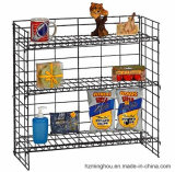 Metal Display Rack for 3 Layer Supermarket Store Advertising Exhibition