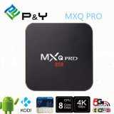 China Manufacturer Mxq PRO S905 Smart TV Box Android 5.1 Google TV OEM/ODM