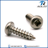 304/18-8 Stainless Steel Square Drive Pan Head Sheet Metal Screw
