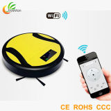 Household Robotic Cleaner 6cm Thinnest Smartphone APP Controlled Wet and Dry Vacuum Cleaner