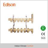 Smart Distribution Underfloor Heating Manifold Brass