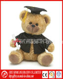 Cute Plush Graduation Bear for Souvenir
