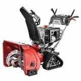 Commercial 2 Stage Electric Start Gas Snow Blower with 34 Inch Clearing Width