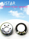 16mm 8-32ohm Mylar Speaker with RoHS
