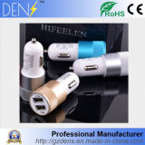 2.1A Dual Port USB Car Charger for Smart Cell Phone