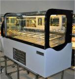 Customized Desktop Ice Cream Gelato Display Freezer