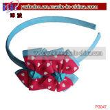 Holiday Gift Ribbon Bow Hairband Kids Hair Products (P3047)