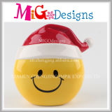 Christmas Presents Beautiful Smile Emoji Piggy Bank