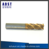 High Precision 60HRC 4flute Tungsten Steel Ball Nose End Mill