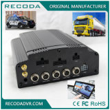 Recoda HDD 8CH D1 4G 3G GPS WiFi Realtime Monitoring Mobile Car DVR for Bus Taxi Truck