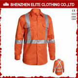 Flame Retardant Construction Hi Vis Safety Orange Workwear