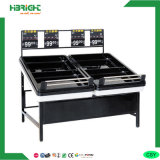 Single Black Color Fruits and Vegetables Rack with Price Holder