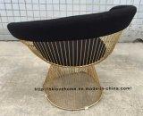 Metal Leisure Restaurant Furniture Cushion Outdoor Steel Wire Chair