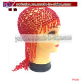 Halloween Carnival Party Supply Mardi Gras Beaded Headdress (P4081)