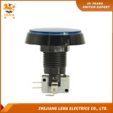 IP40 Protection Level 60.8mm Blue LED Push Button Switch Pbs-005