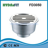 Zinc Alloy Shower Floor Drain / Floor Drainer (FD3050)
