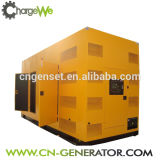 Chargewe Low Noise with Silent Cabinet 90kw Natural Gas Generator Set