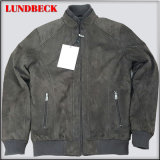 Men; S Suede Jacket with Fashion Style