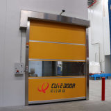Remote Control Automatic PVC Vertical Clean Room Fast Roller Shutter Door