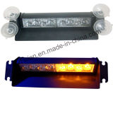 8 LED Strobe Car Interior Windshield Lights with Suction (TBF-3868L-2A)