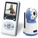 "Digital Baby Monitor Handheld 2.4"" LCD Color Video and 2.4GHz Wireless IR Night Vision Camera"