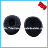 Oval Shape Leatherette Earpad / Foam Pad / Earmuffs for Headphones