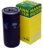 Oil Filter W962 Air Compressor Parts Price Mann Filter