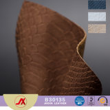 High Quality Imitation Antique Fake PVC Leather Fabric Snakeskin Grain Leather for Bags/Sofa/Car/Shoe