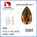 Factory Sale Drop Water Sew on Crystal Stone for Wedding Dress