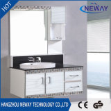 Design Waterproof Unfinished Bathroom Plastic Vanity Cabinet