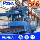 Puhua Brand Roller Type Shot Blasting Machine for Thick Plate Cleaning