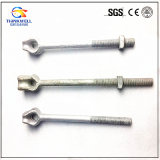 Lifting Pole Curved Eye Bolt Anchor Rod with Square Nut