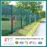 Powder Coating D and W Type Steel Palisade Fence/Metal Steel Palisade Fencing