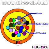 24 Cores Indoor Bundle Optical Fiber Cable 0.9mm Simplex Fan-out