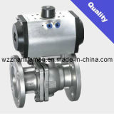 Pneumatic Operated Ball Valve Q641f (API, DIN, GB)