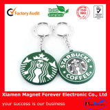 Customized Rubber Key Chain as Souvenir with Your Logo
