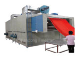 Textile Relax Dryer Finishing Machine Used for Drying Cylinder and Open-Width Fabric with Three-Layer Net Belt