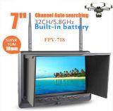 Built in Battery, 32 CH AV Receiver 7 Inch Fpv Monitor